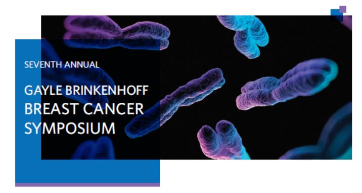 7th Annual Gayle Brinkenhoff Breast Cancer Symposium